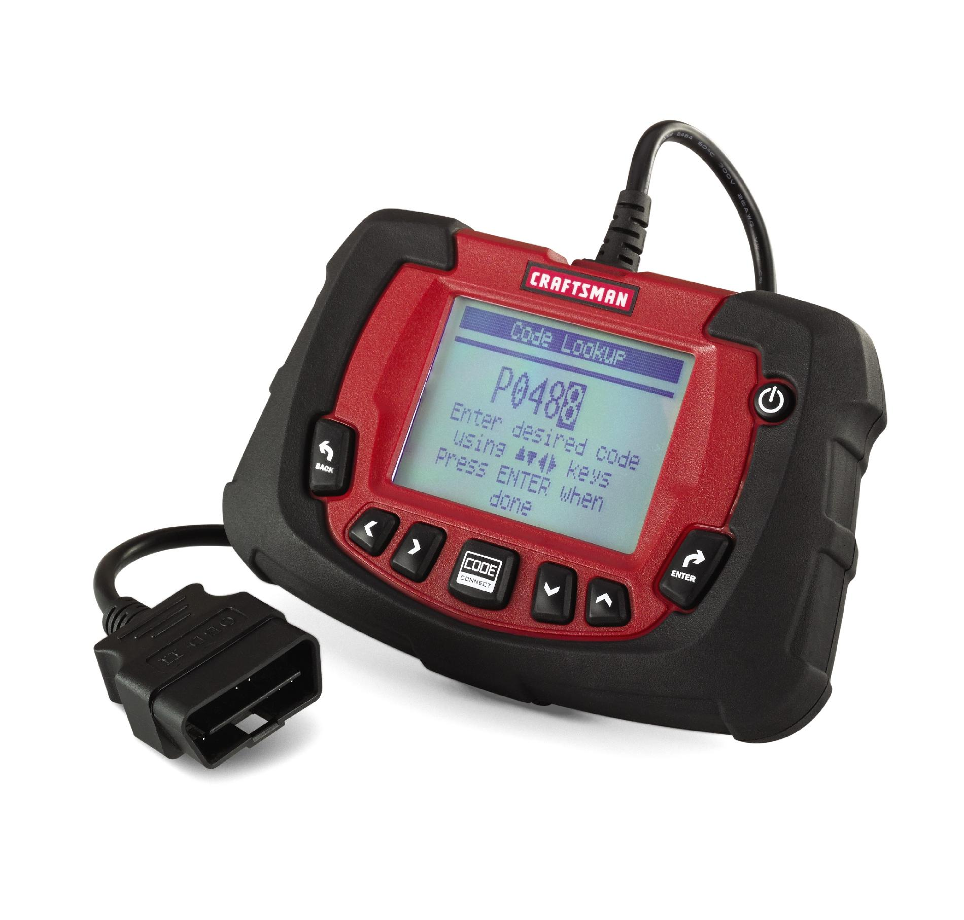 Tools Auto Craftsman Obd2 Scan Tool With Abs Airbag And Codeconnect