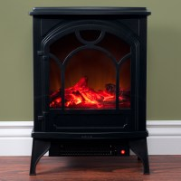 Northwest Freestanding Classic Electric Log Fireplace