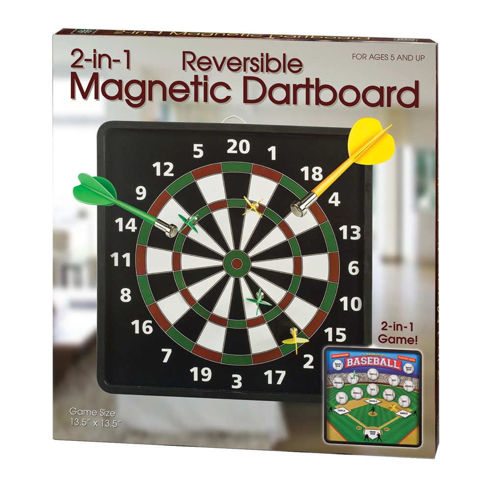 Westminster Inc 2 In 1 Reversible Magnetic Dartboard