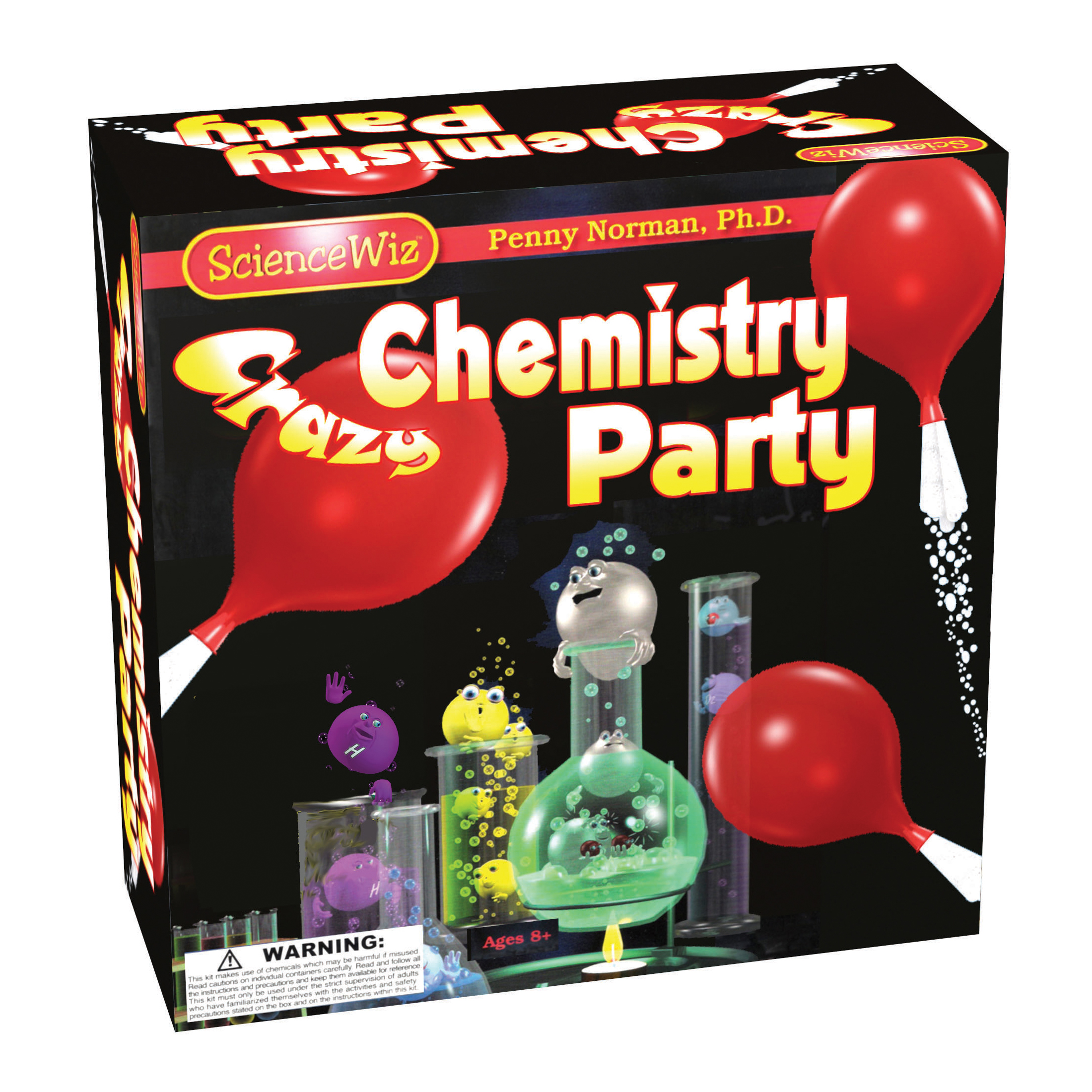 Candle Making Kit Kmart Sciencewiz Crazy Chemistry Party
