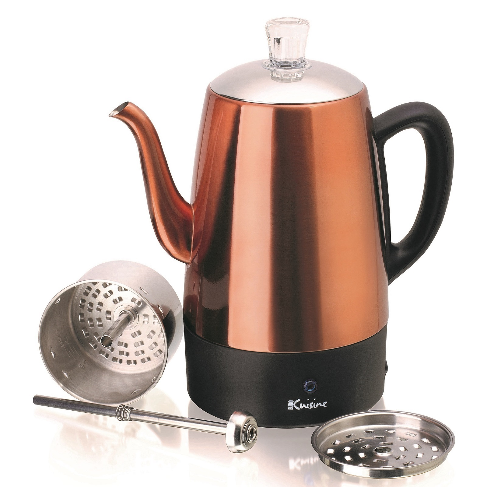 Euro Cuisine Euro Cuisine Per08 Stainless Steel Electric Coffee