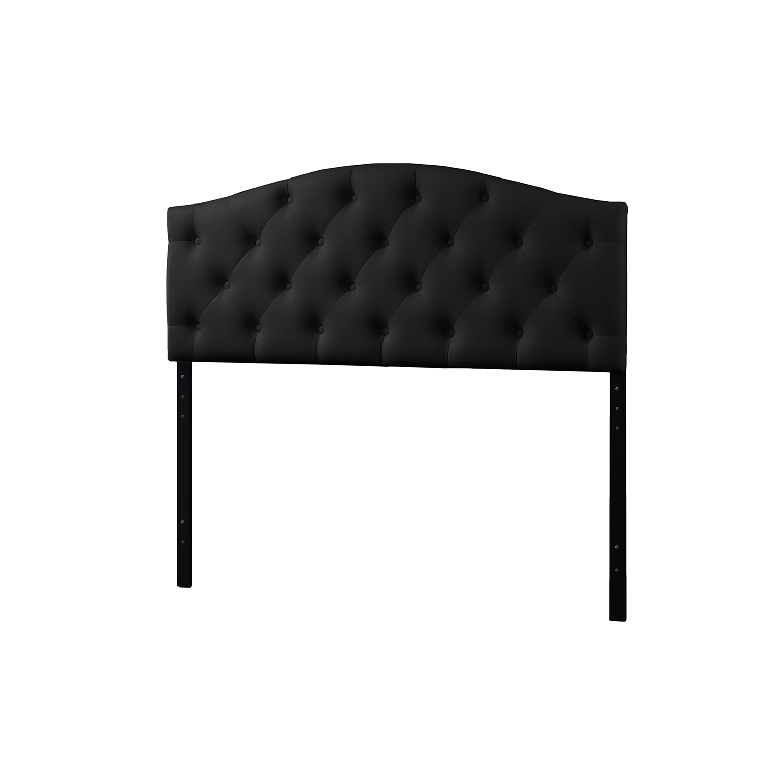 Headboard For Ensemble Baxton Studio Myra Modern And Contemporary Full Size Black