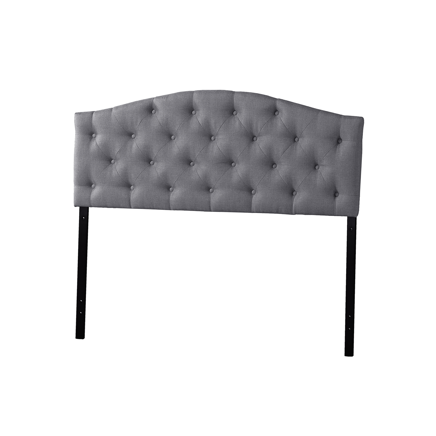 Headboard For Ensemble Baxton Studio Myra Modern And Contemporary Full Size Grey