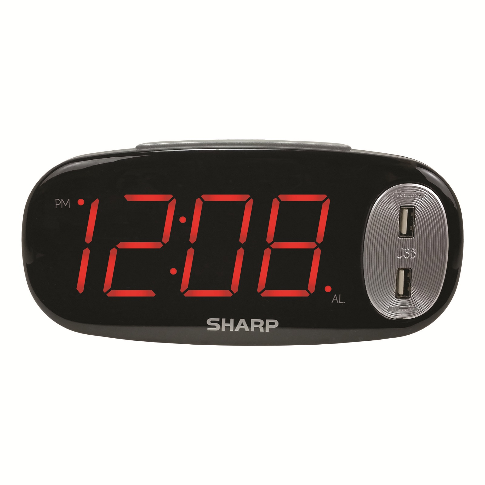 Digital Clock For Sale Sharp Spc182 Digital Led Alarm Clock
