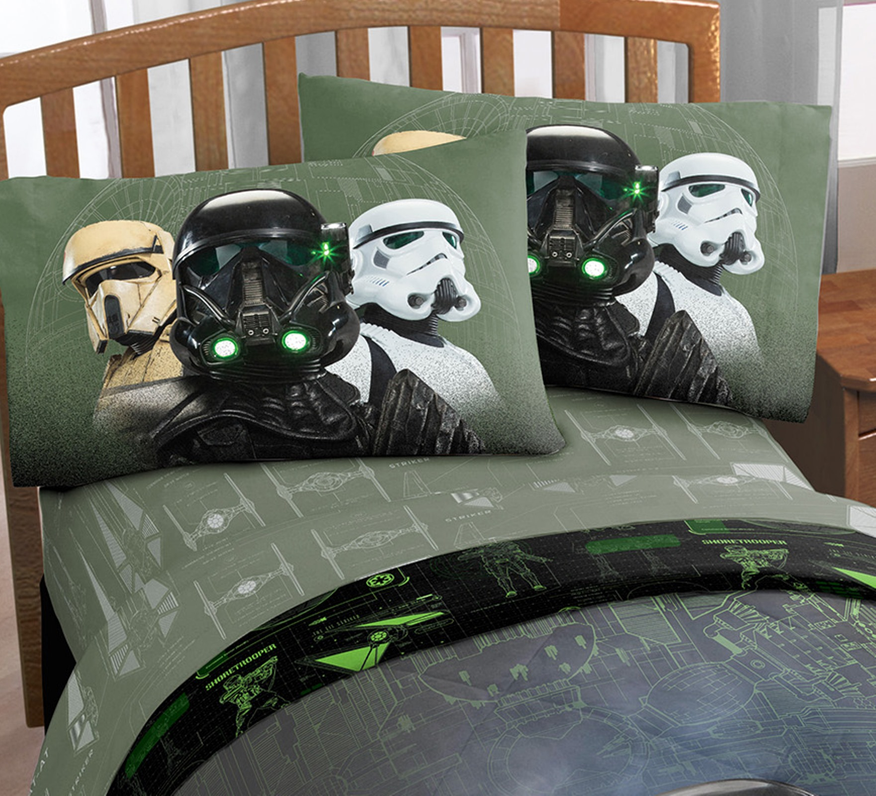 Stormtrooper Bed Sheets Lucas Star Wars Rogue 1 Imperial Force Twin Sheet Set