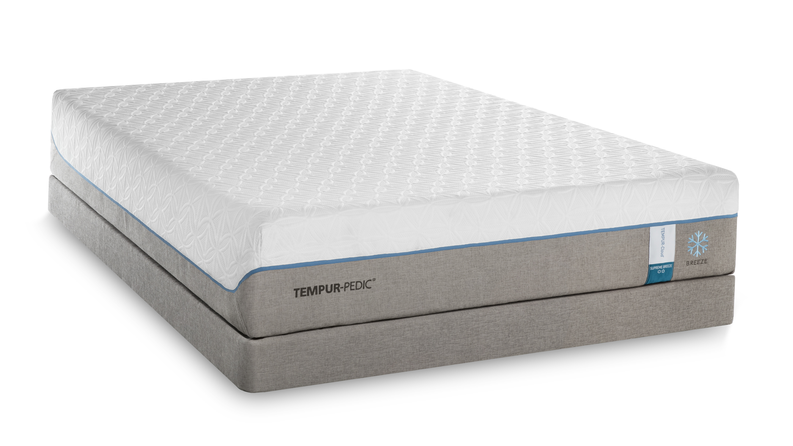 Tempurpedic Mattress King Size Tempur Pedic Tempur Cloud Supreme Breeze Split California