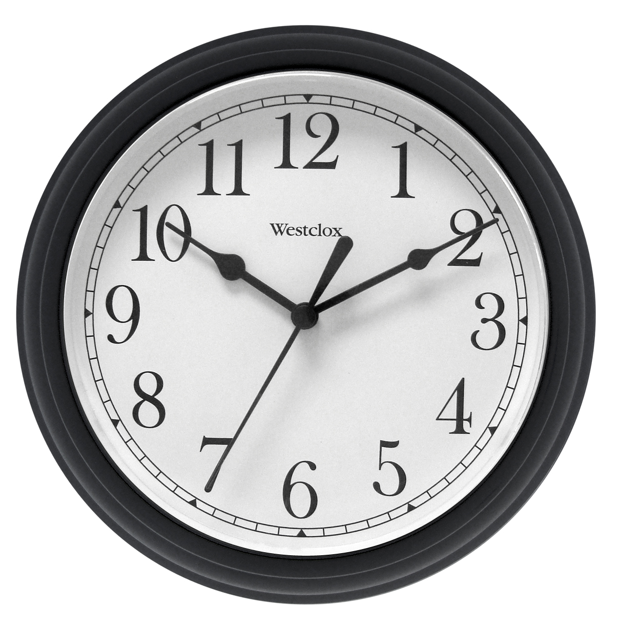 Wall Clocks Glass Westclox Glass Wall Clock Kmart
