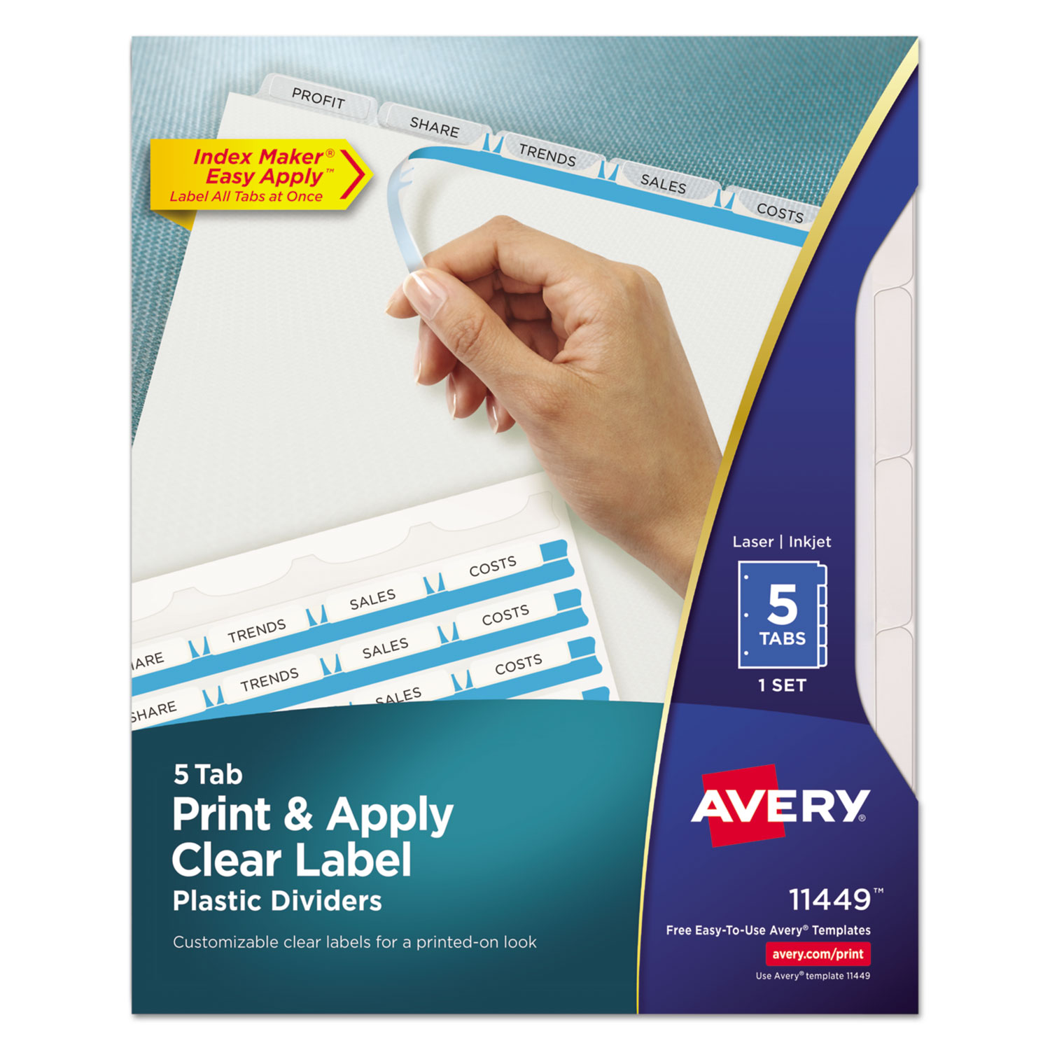 avery letter labels