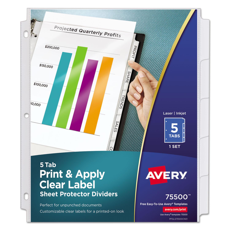 avery label maker