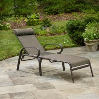 Jaclyn Smith Marion Sling Lounge - Outdoor Living - Patio ...