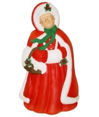 General Foam Plastics Light-Up Mrs. Claus Christmas Decoration