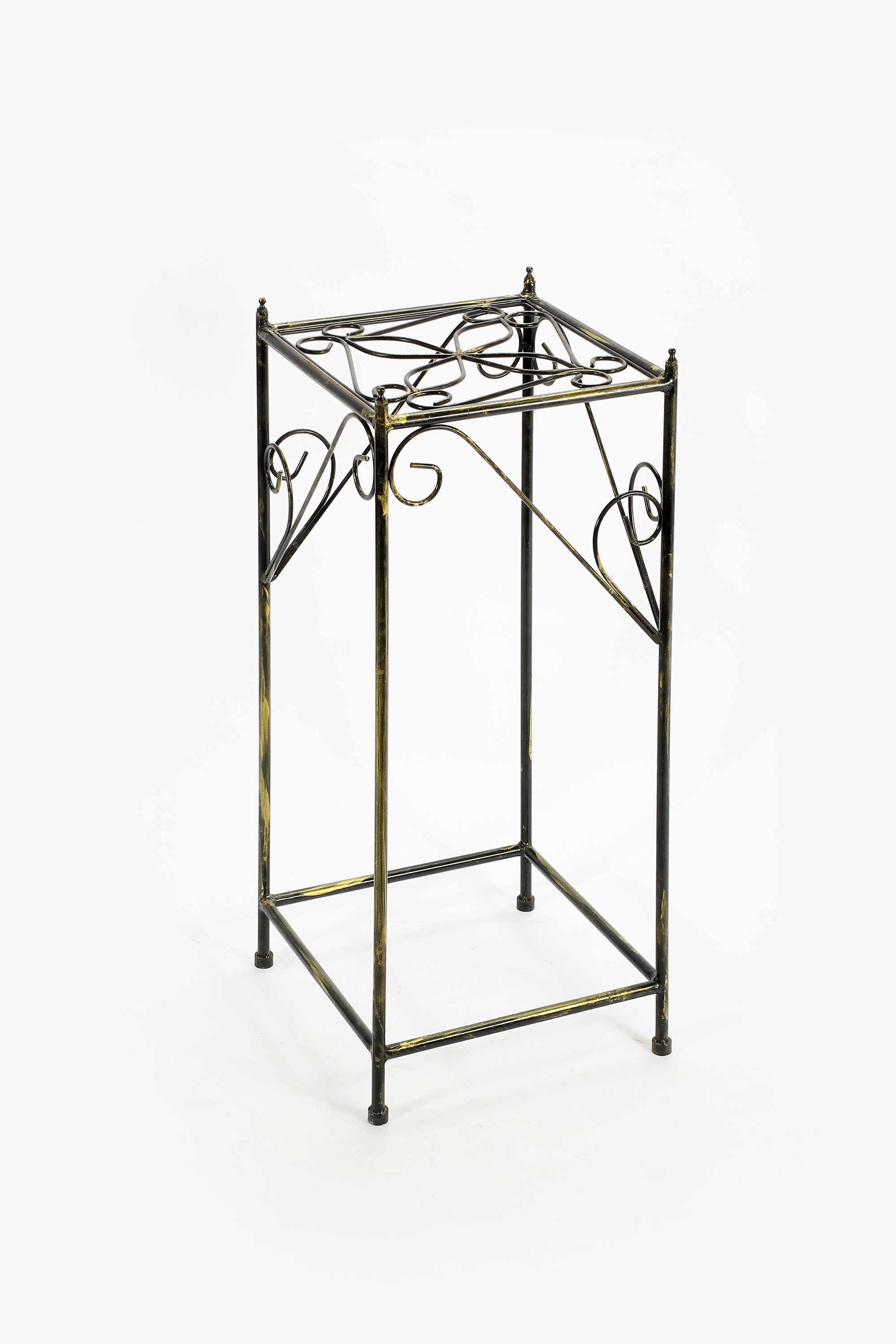 Big Plant Stand Ore International 28 54 Quot Large Lattice Square Cast Iron