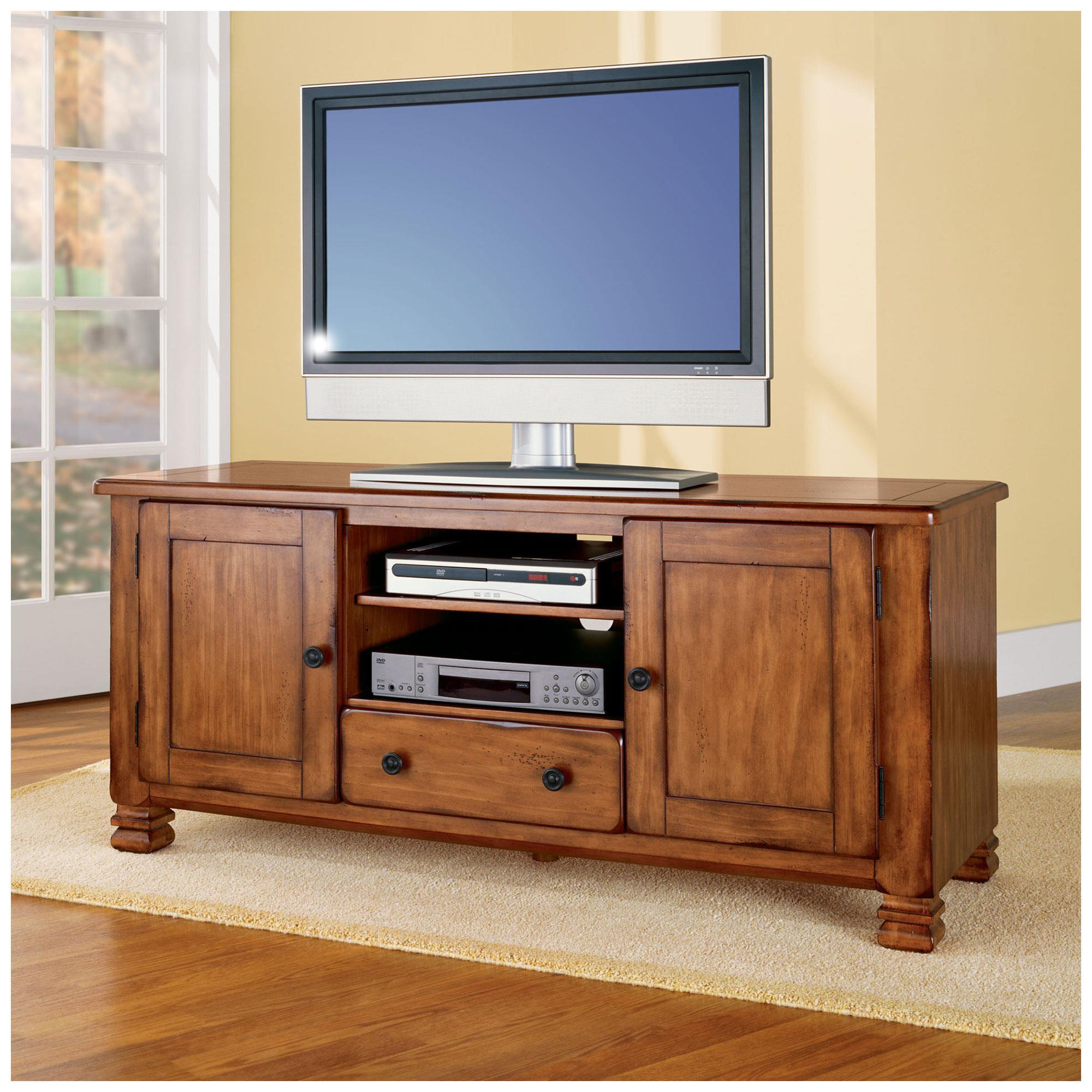 Dorel home furnishings summit mountain tuscany oak tv stand