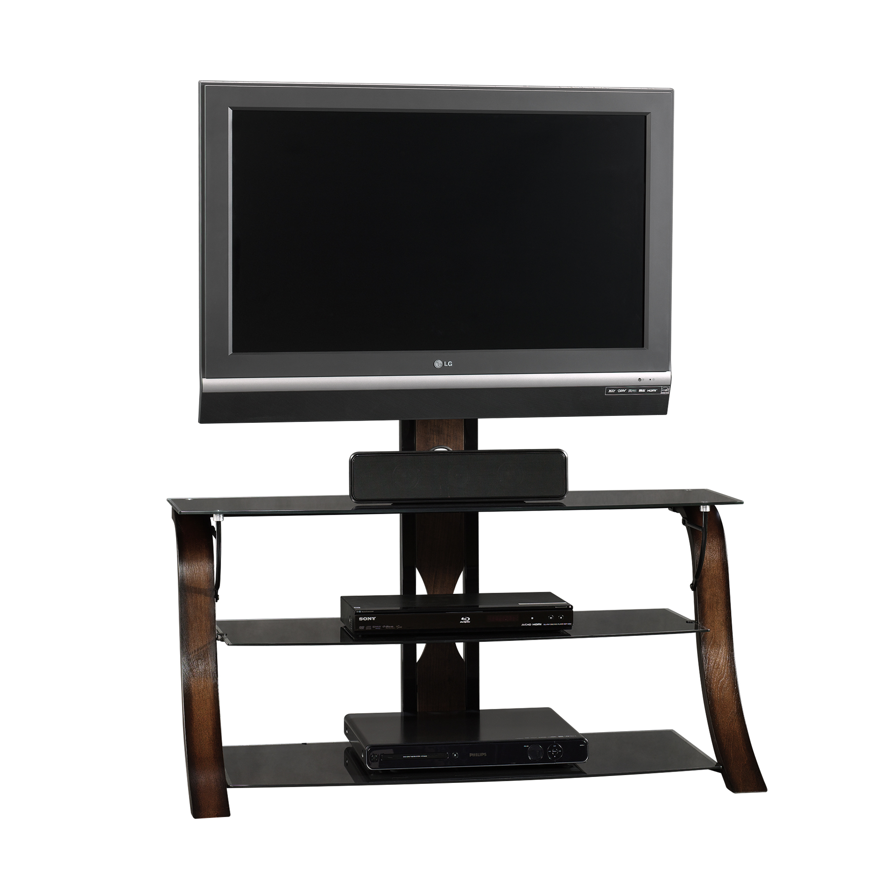 Kmart Tv Mount Tempered Glass Tv Stand Kmart