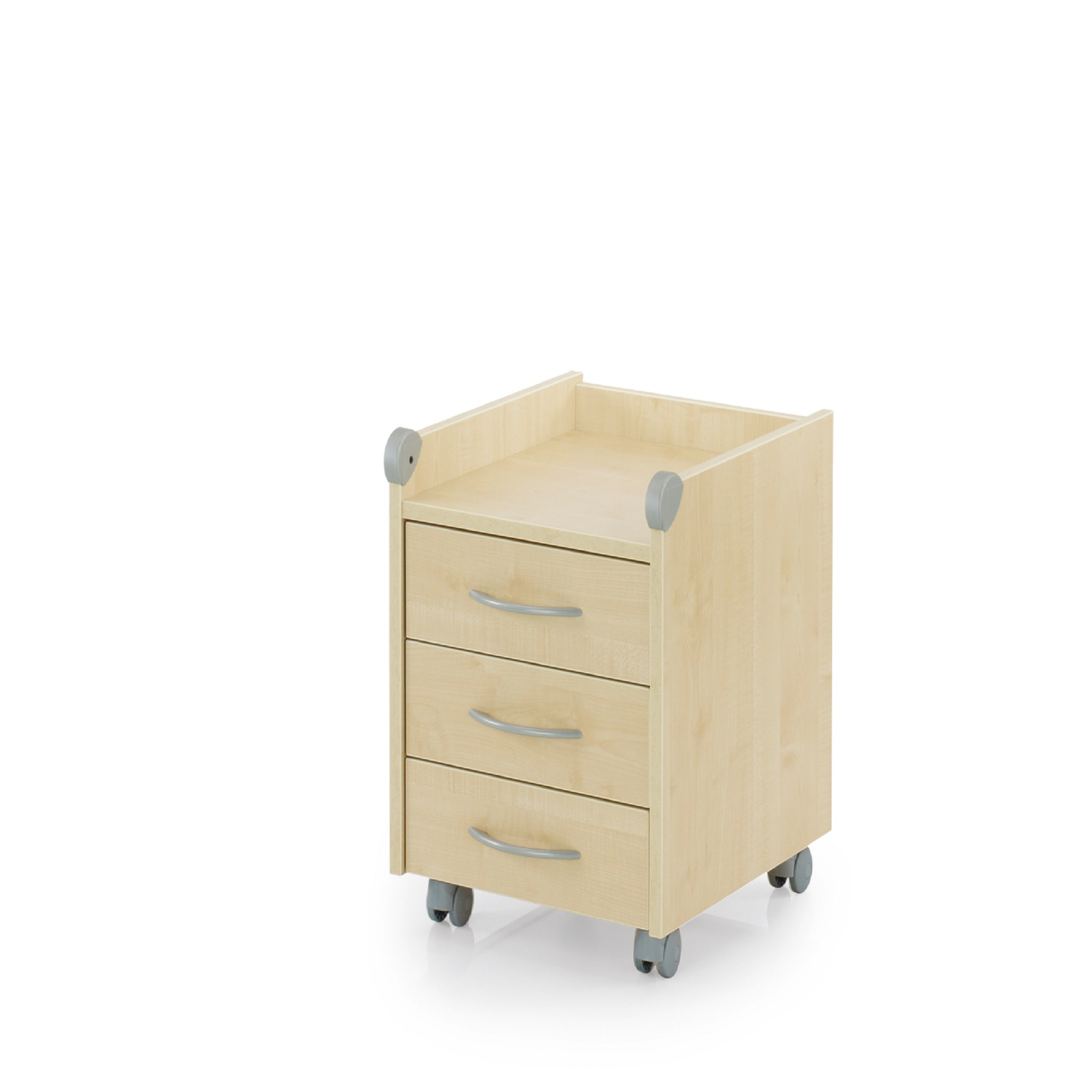 Kettler Kids Comfort Kettler Roll On Drawer Unit Maple Wood