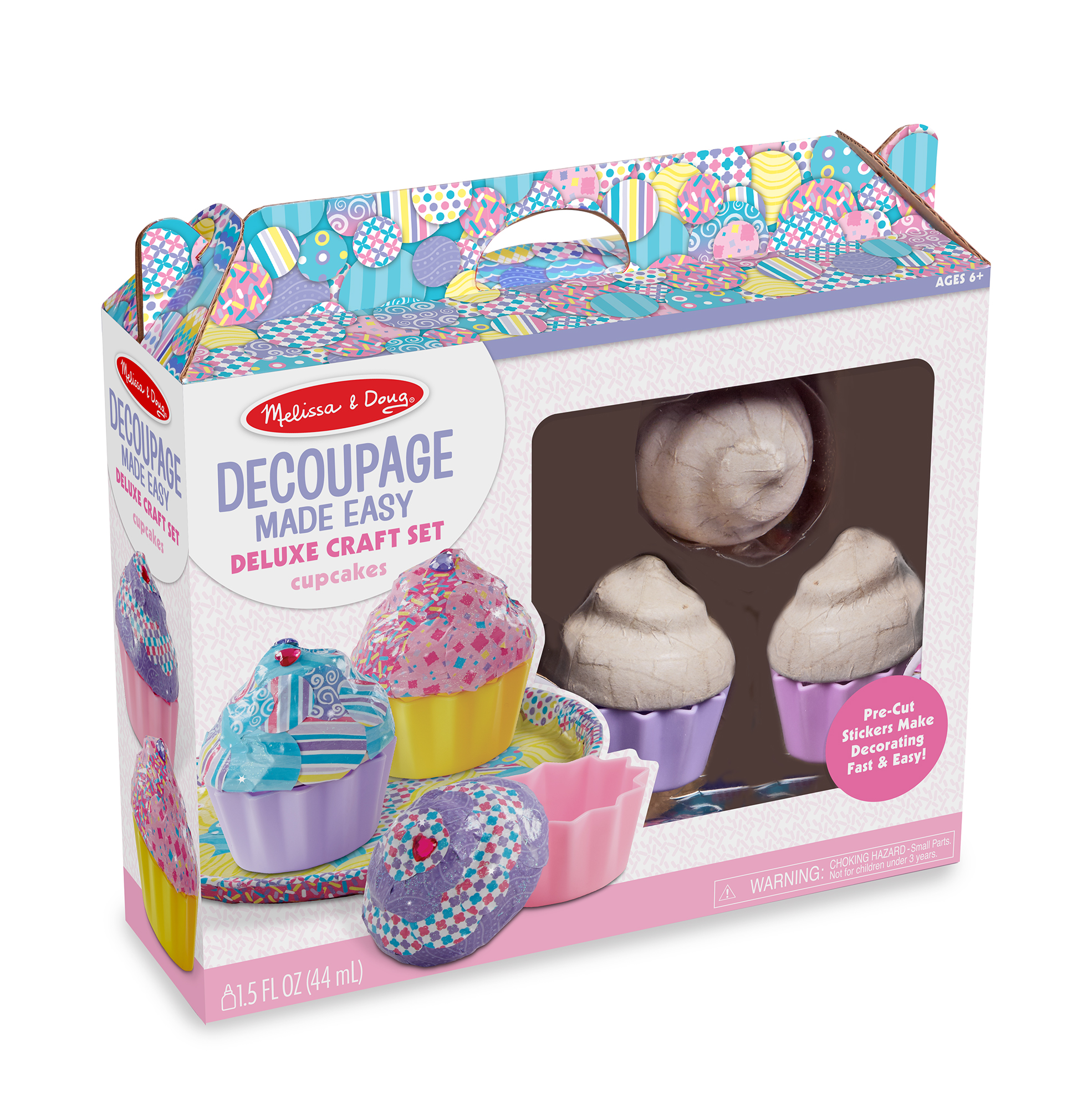 Cupcake Boxes Kmart Melissa And Doug Decoupage Made Easy Deluxe Craft Set Cupcakes