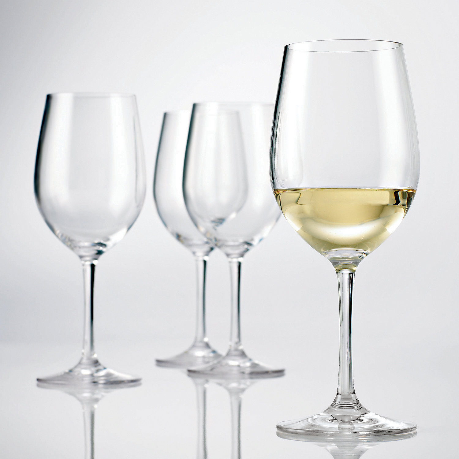 Chardonnay Wine Glass Wine Enthusiast 4 Pc Indoor Outdoor Chardonnay Wine Glass Set