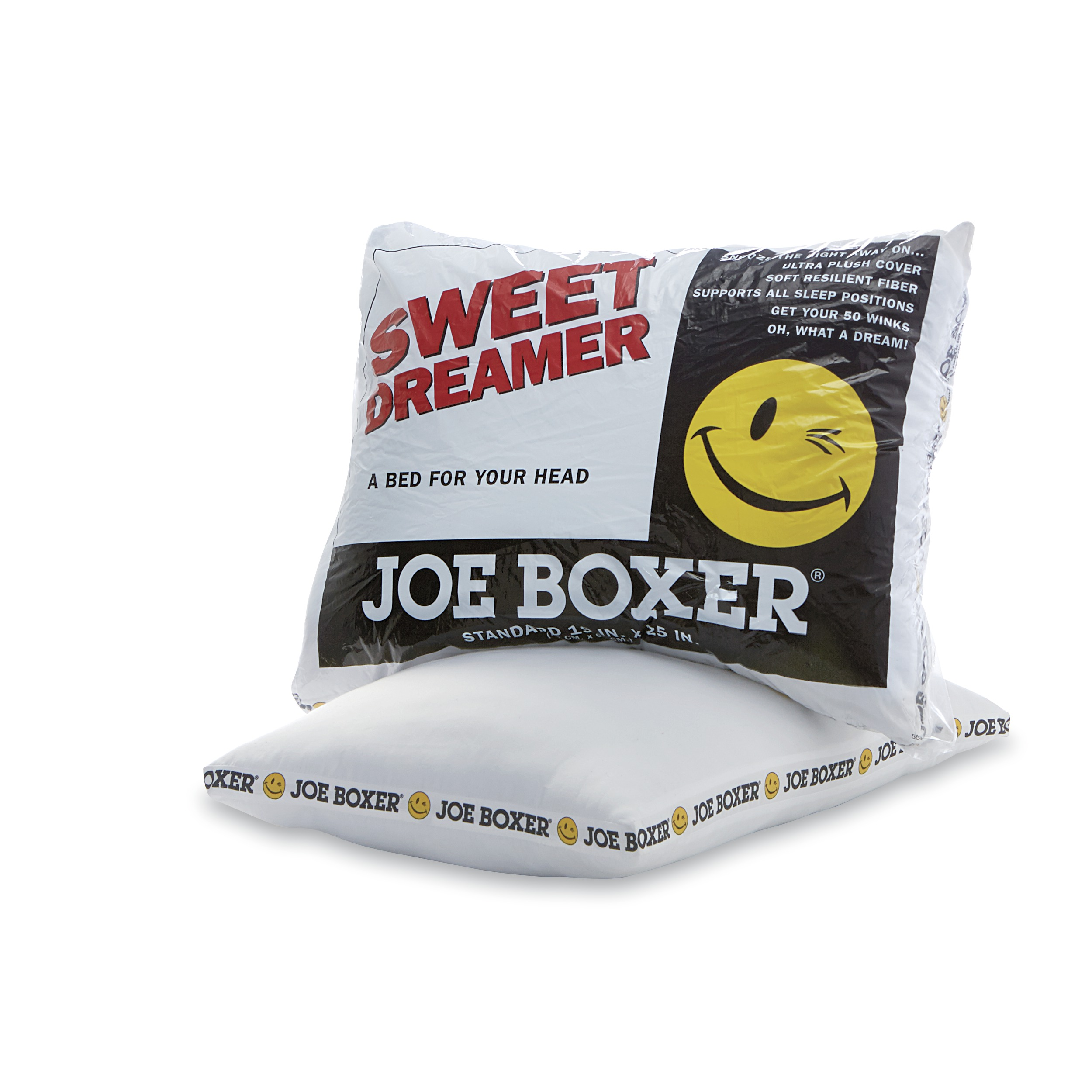 Standard Bed Pillows Joe Boxer Sweet Dreamer Ultra Plush Standard Bed Pillow
