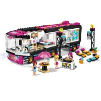 LEGO Friends - Pop Star Tour Bus #41106 Free Shipping New ...