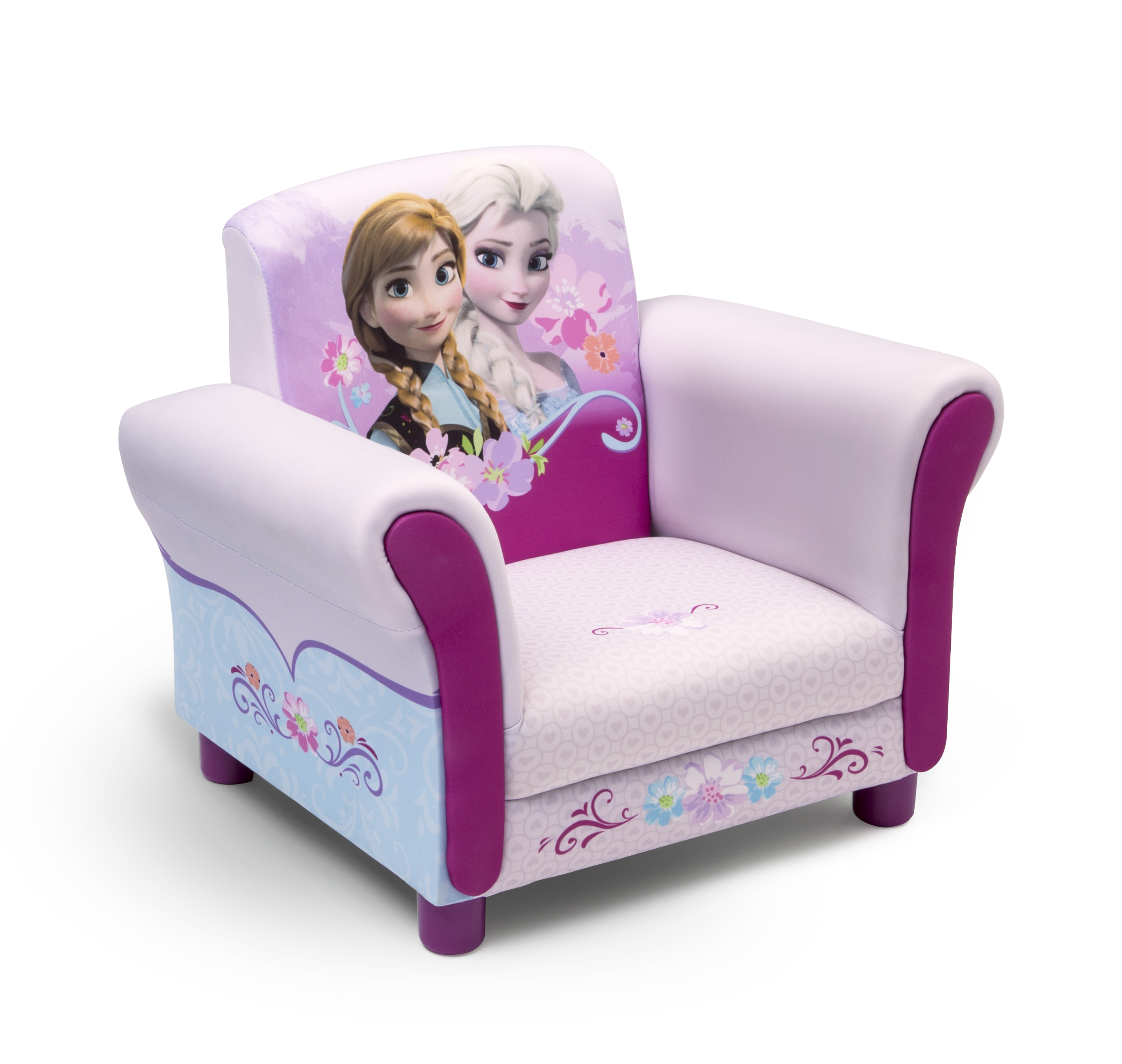 Toddler Couch Delta Children Frozen Upholstered Chair Baby Toddler