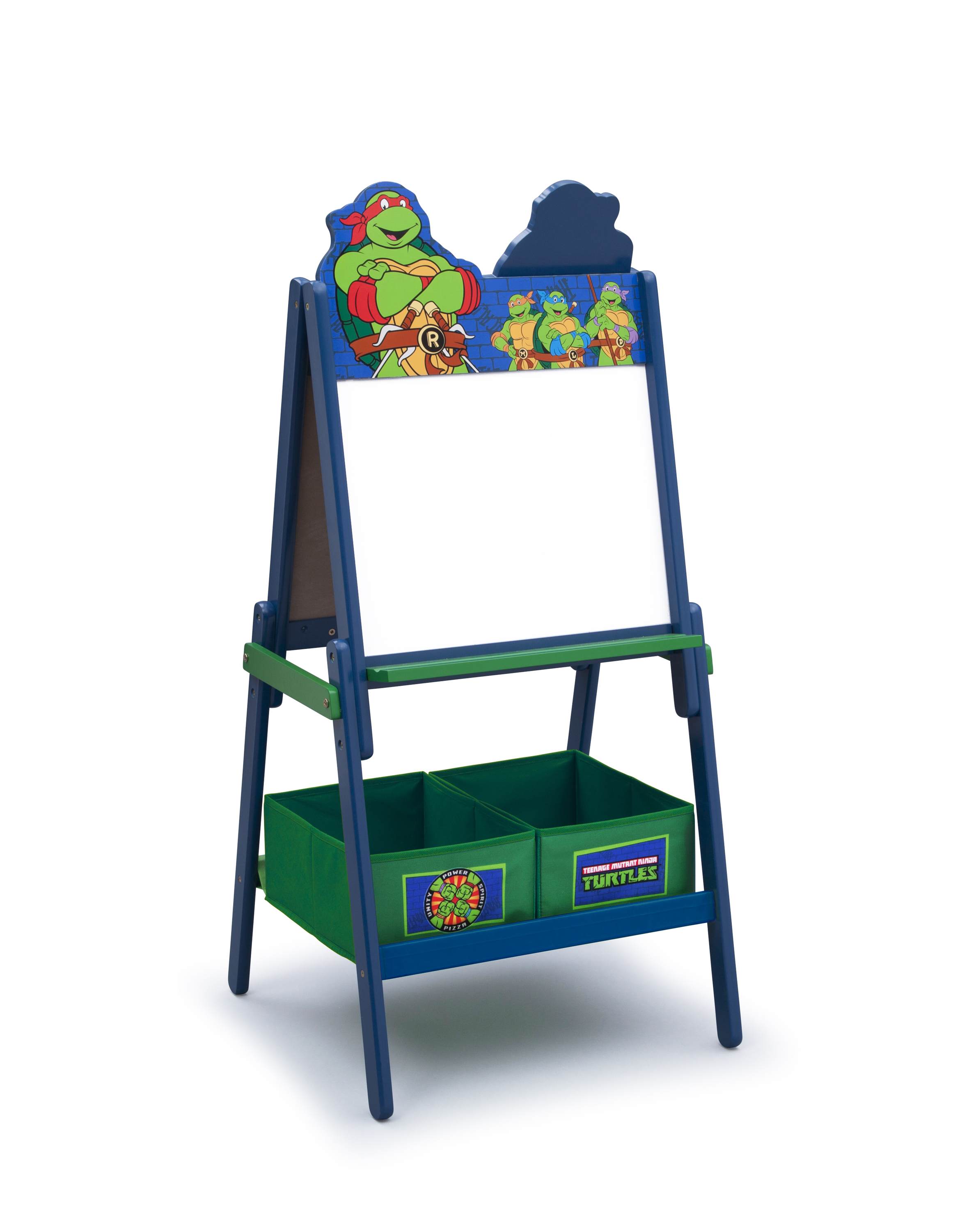 Double Sided Kids Desk Delta Children Ninja Turtles Wooden Double Sided Activity
