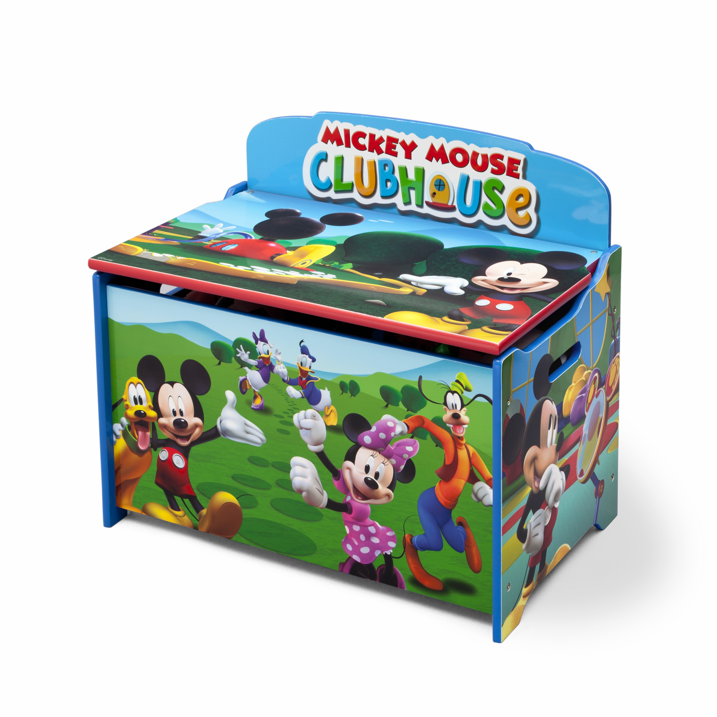 Disney Deluxe Toy Box Mickey Mouse Baby Toddler