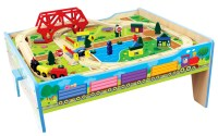 Homewear 50 pc. Wood Farm Train Table
