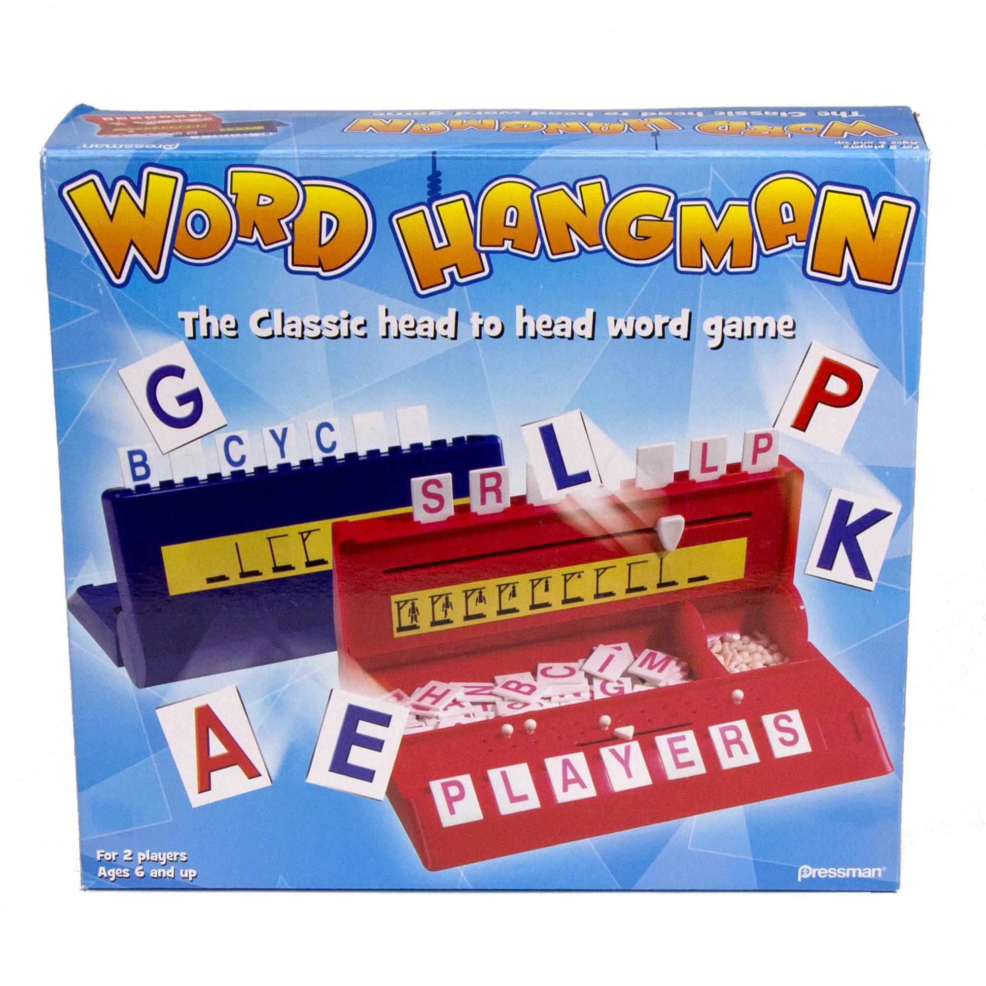 Pressman Toy Word Hangman Game