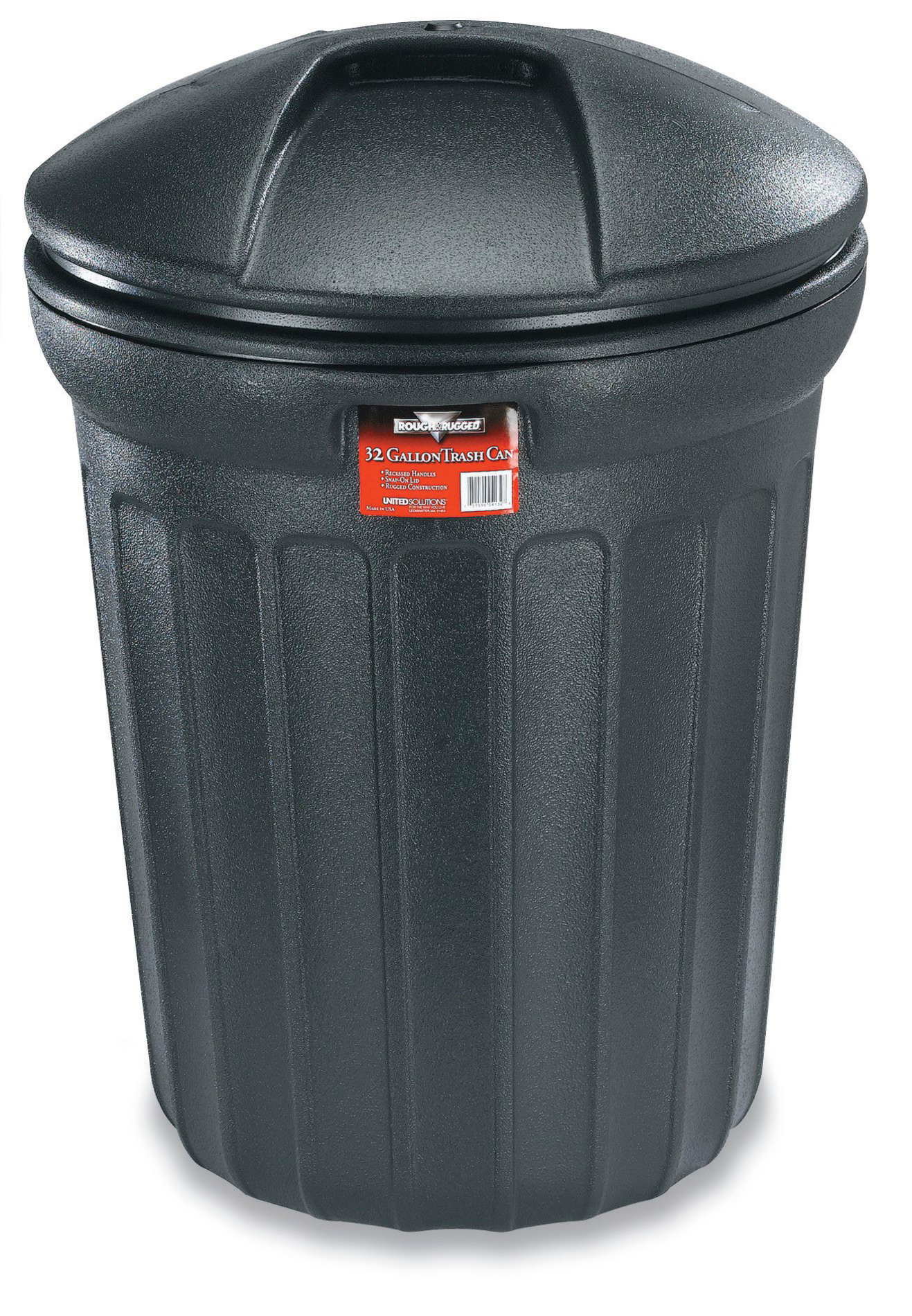 Colorful Garbage Cans Rough Rugged 73250206 Trash Can 32 Gallon