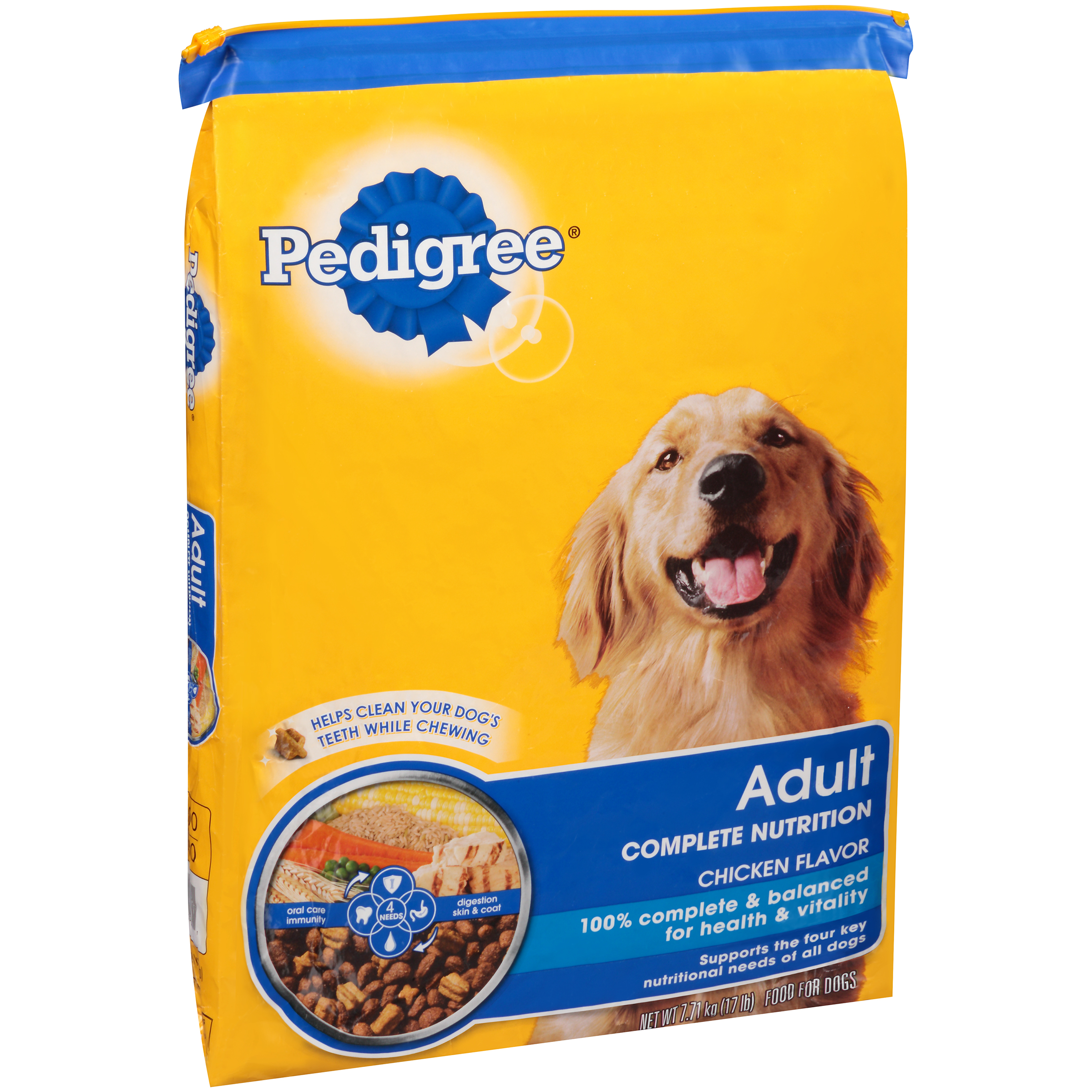 Big W Dog Food Pedigree Adult Small Crunchy Dog Food 17 Lb Bag