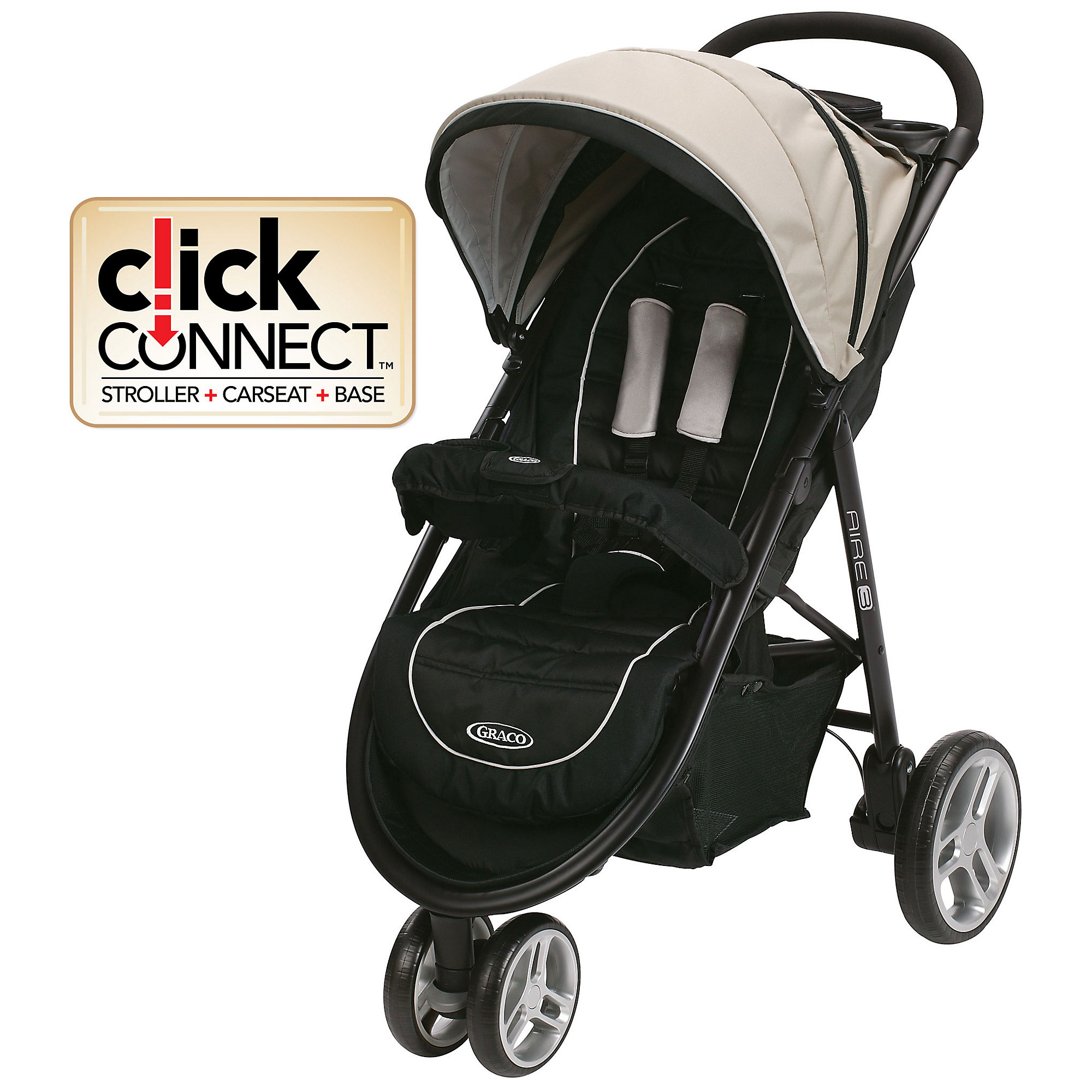 Graco Lightweight Stroller Graco Aire 3 Stroller Click Connect