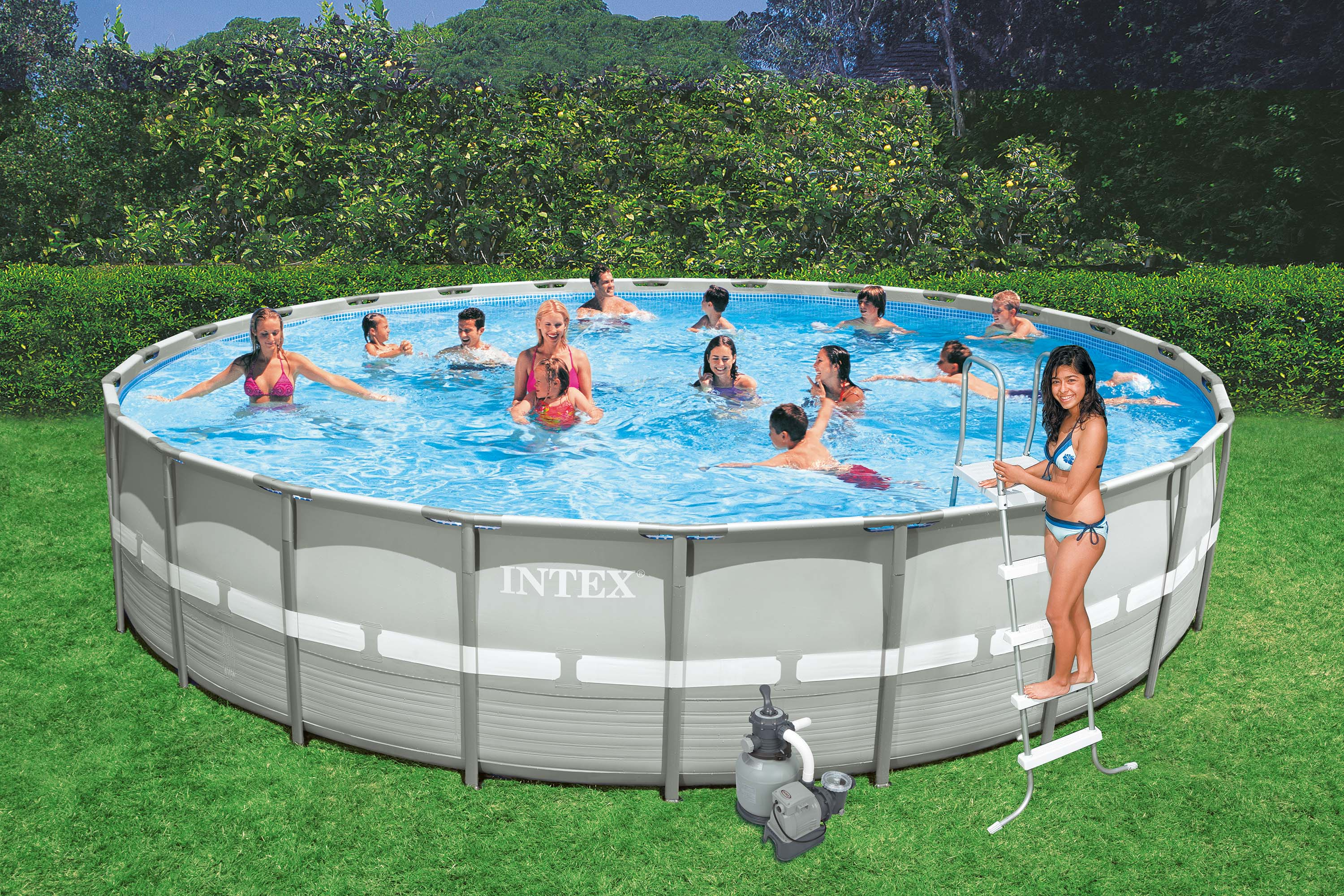 Pool Garten Pumpe Garten Pool Intex Gallery Of Der Intex Easy Set Pools Mit