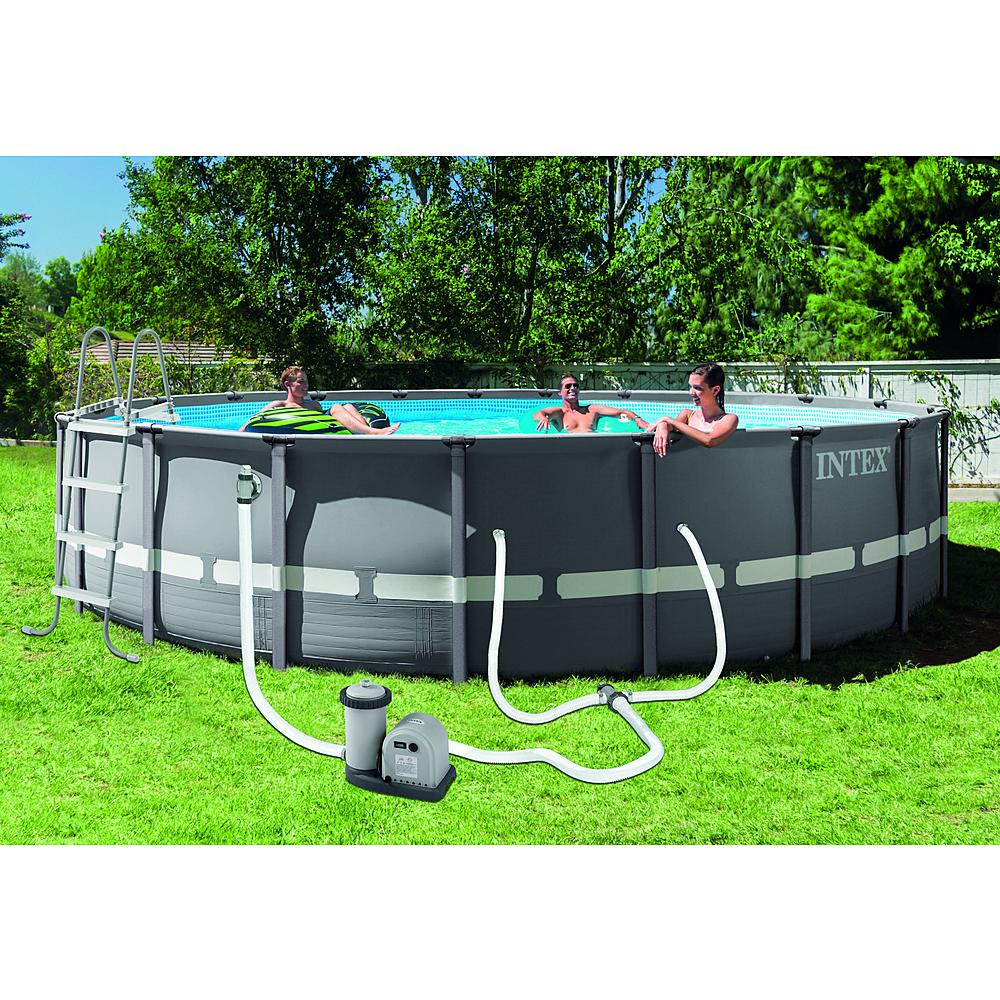 "Pool Frame Rund Intex 20' X 48"" Round Ultra Frame® Pool Set 