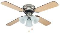 Cool~Breeze EB52038 42IN BRUSHED NICKEL CEILING FAN | Shop ...