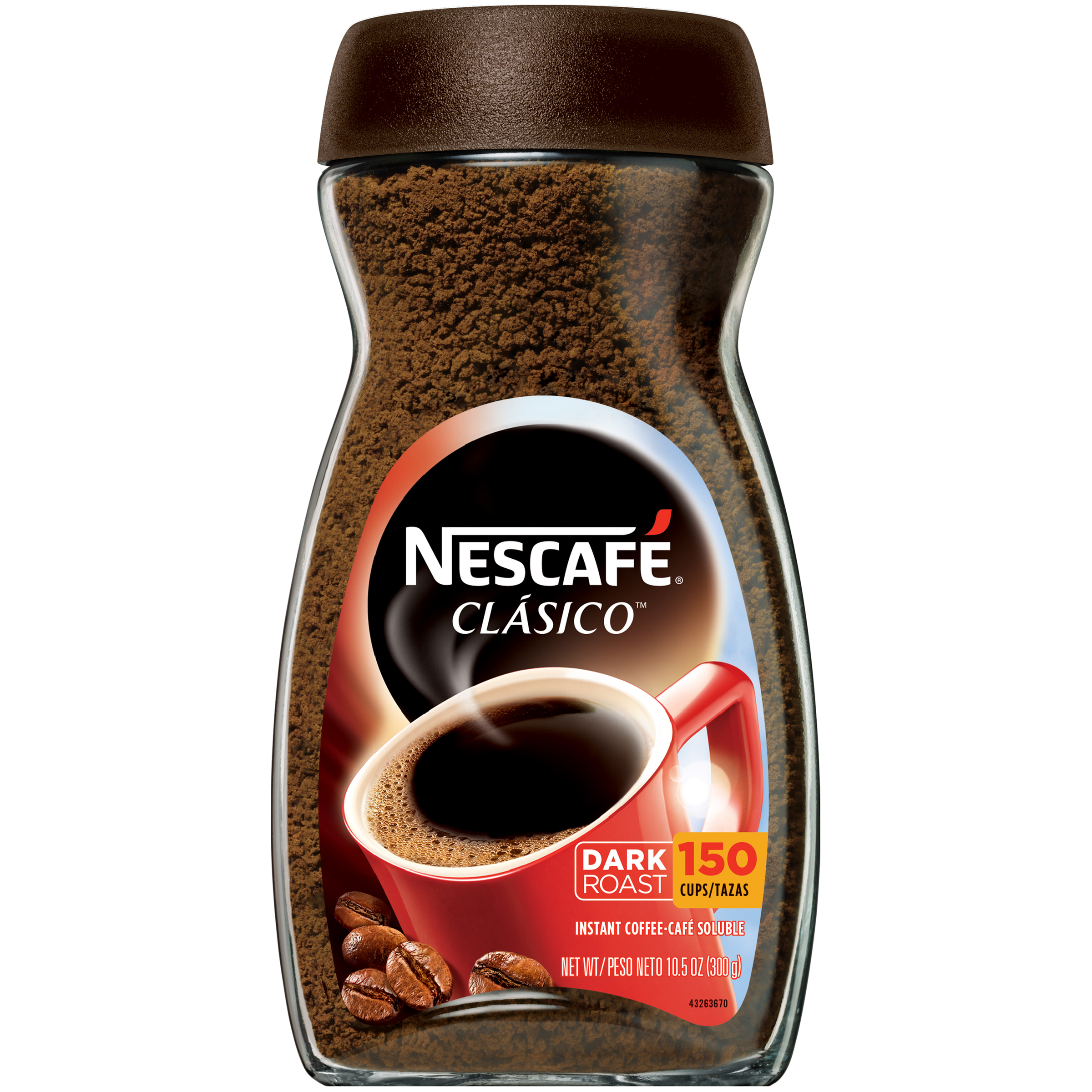 Nescafe Instant Arabica Coffee Nescafe Instant Coffee Clasico 10 5 Oz Jar