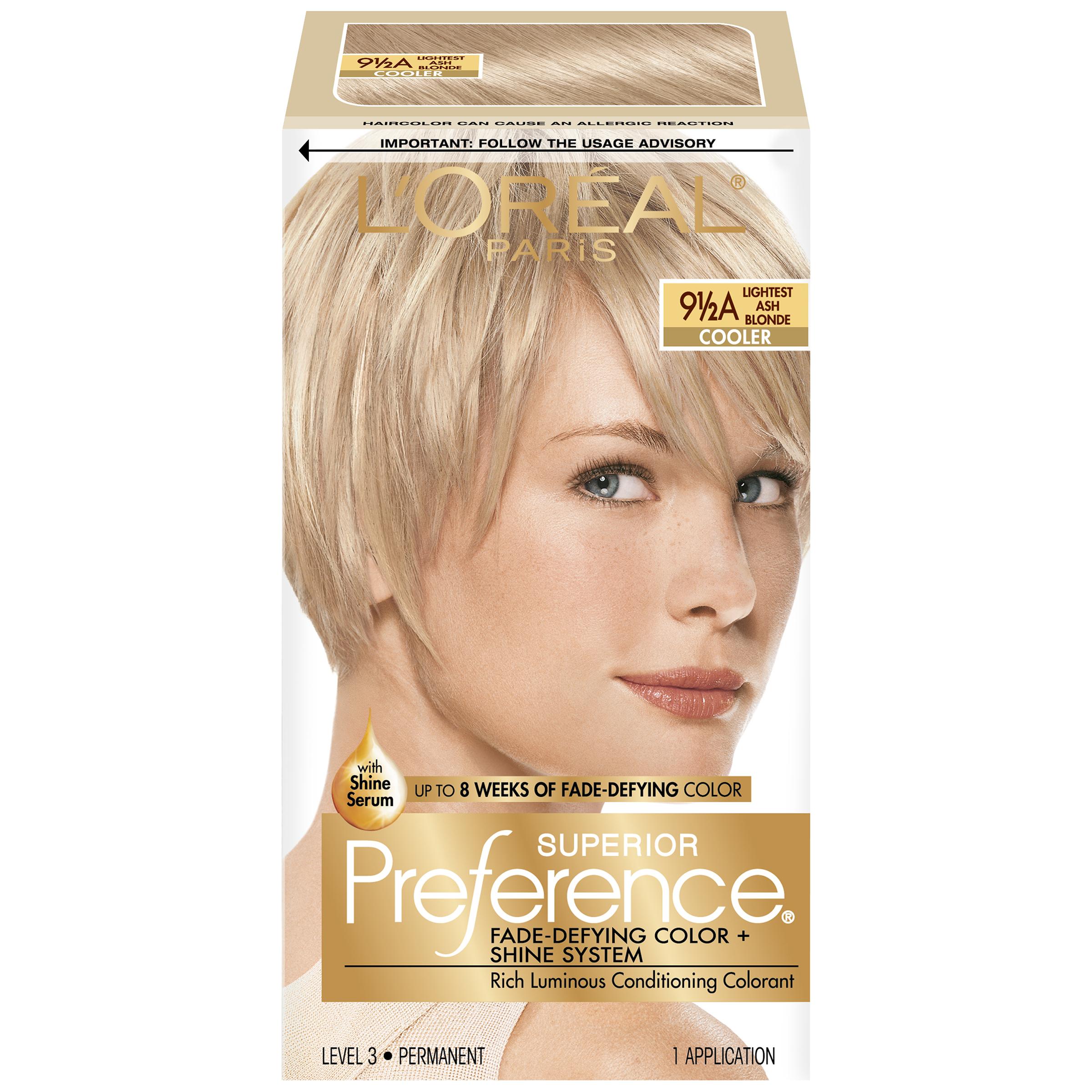 L39oreal 9 1 2a Cooler Lightest Ash Blonde Hair Color 1 Kt