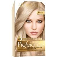L'Oreal 9a Cooler Light Ash Blonde Hair Color 1 KT BOX ...