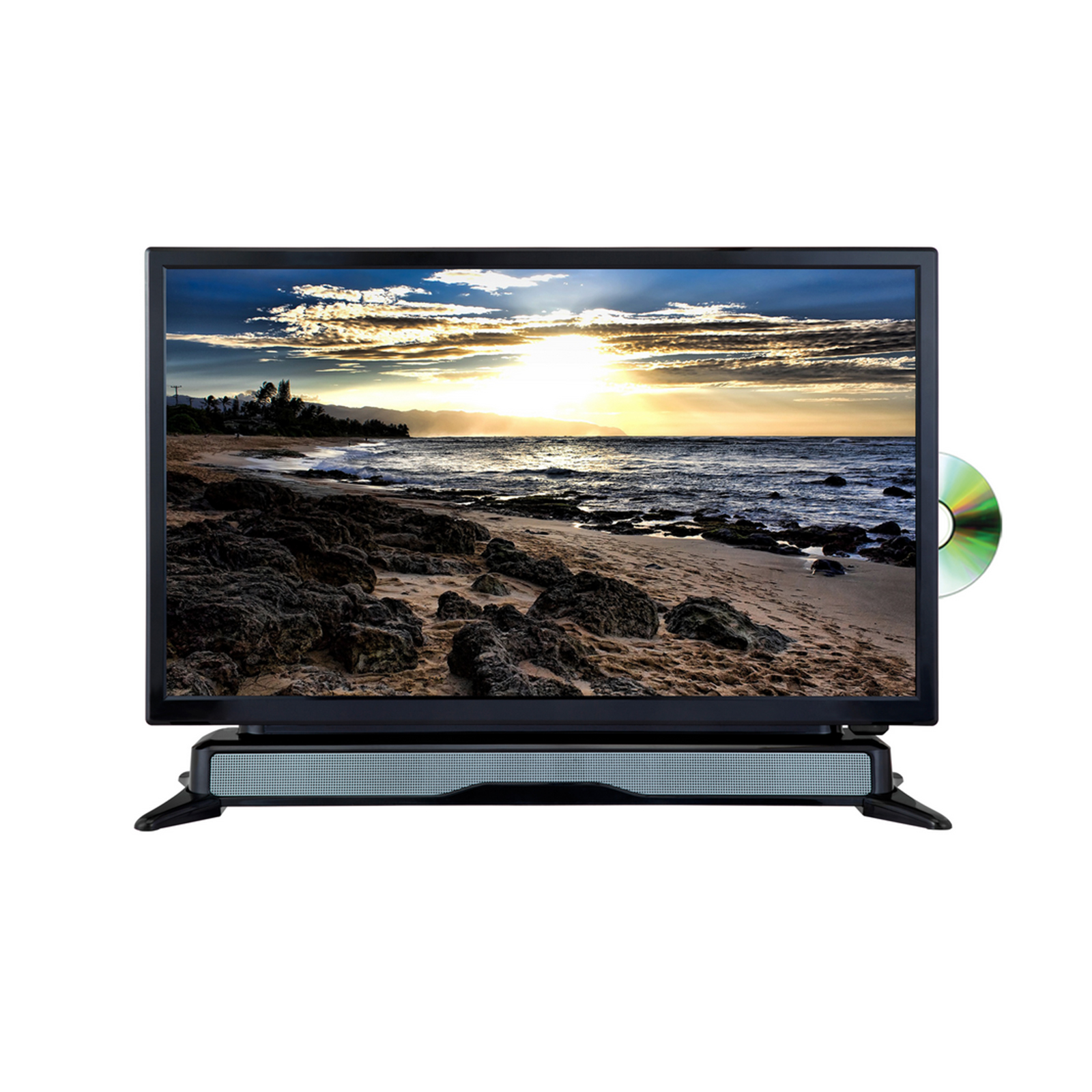 Shop 24 Tv Axess 97098093m 24 Quot Widescreen Hd Led Tv Dvd Combo With