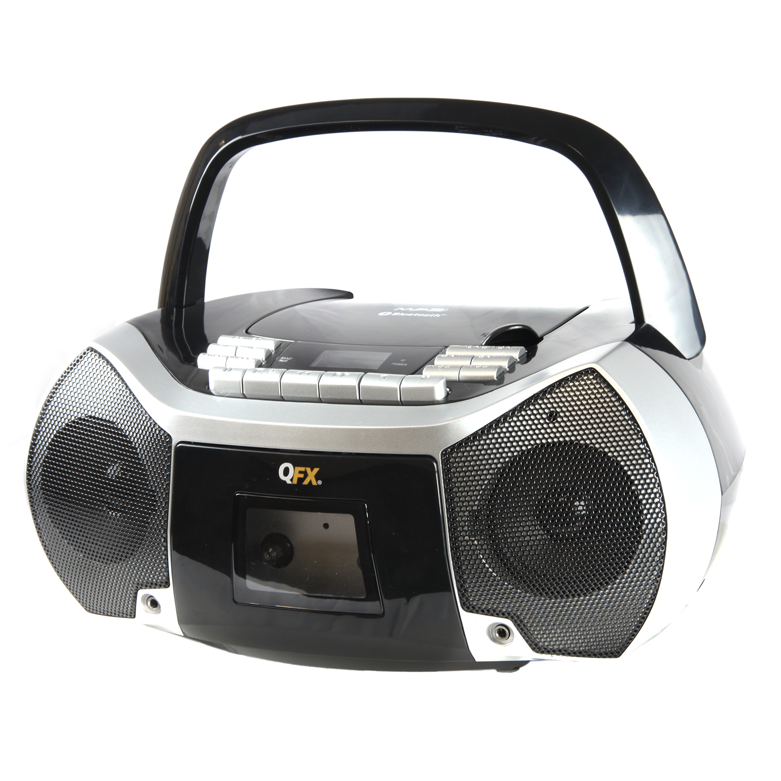 Radio-cd-player Für Badezimmer Quantum Fx 97096447m Portable Boombox With Bluetooth Am