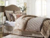 Jaclyn Smith 5-Piece Comforter Set  Paisley Tan - Home ...