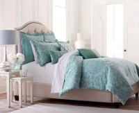 Jaclyn Smith 5-Piece Comforter Set- Blue Damask - Home ...