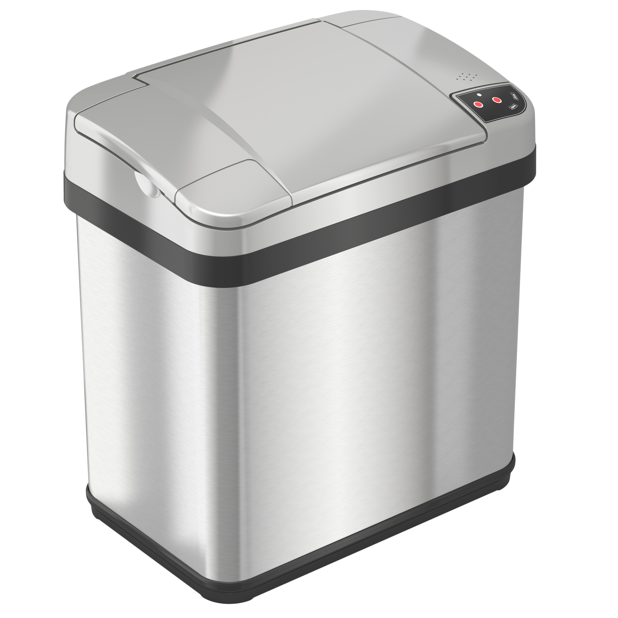 Corner Stainless Steel Trash Can Itouchless Multifunction Sensor Trash Can Stainless Steel