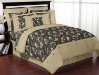 Sweet Jojo Designs Camo Green Collection 3pc Full/Queen ...