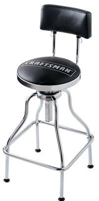 Sale Craftsman Adjustable Hydraulic Seat Work Shop Chrome ...