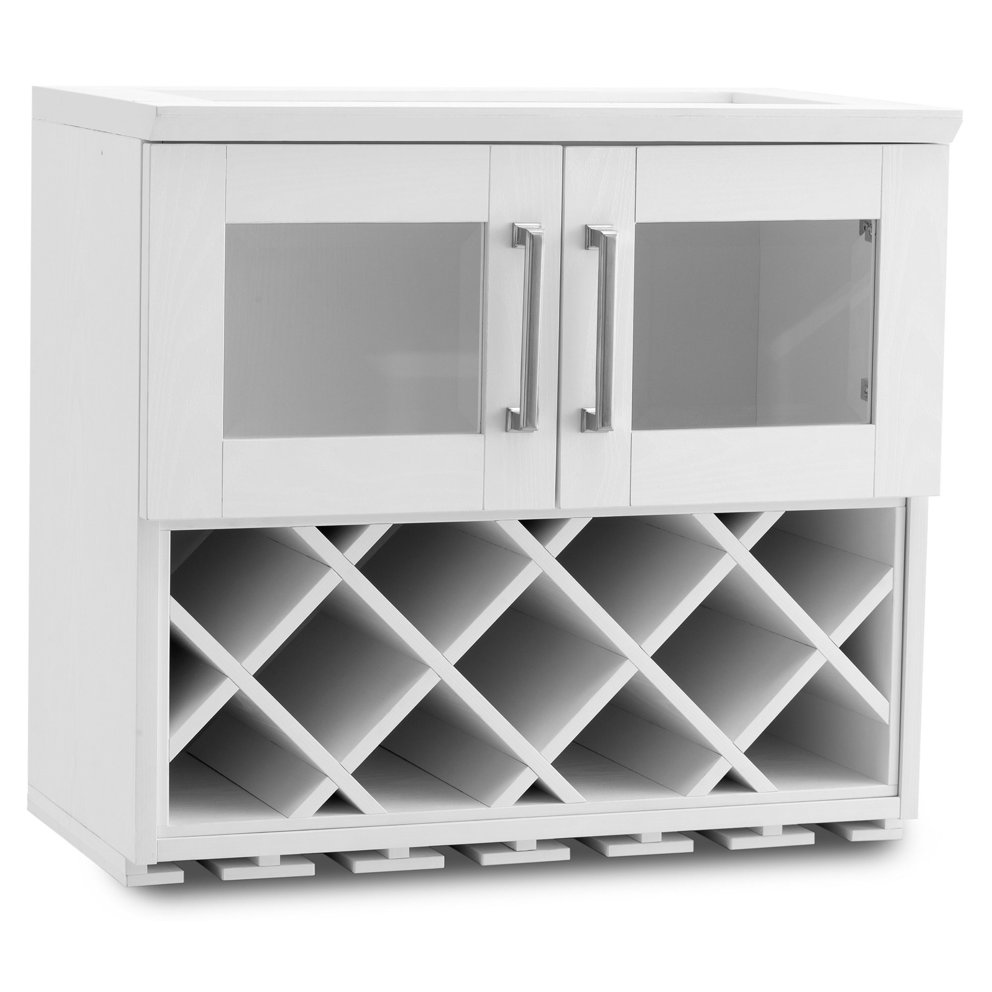 White Wall Wine Rack Newage Products Home Bar 24 Quotw X 13 5 Quotd Wall Wine Rack