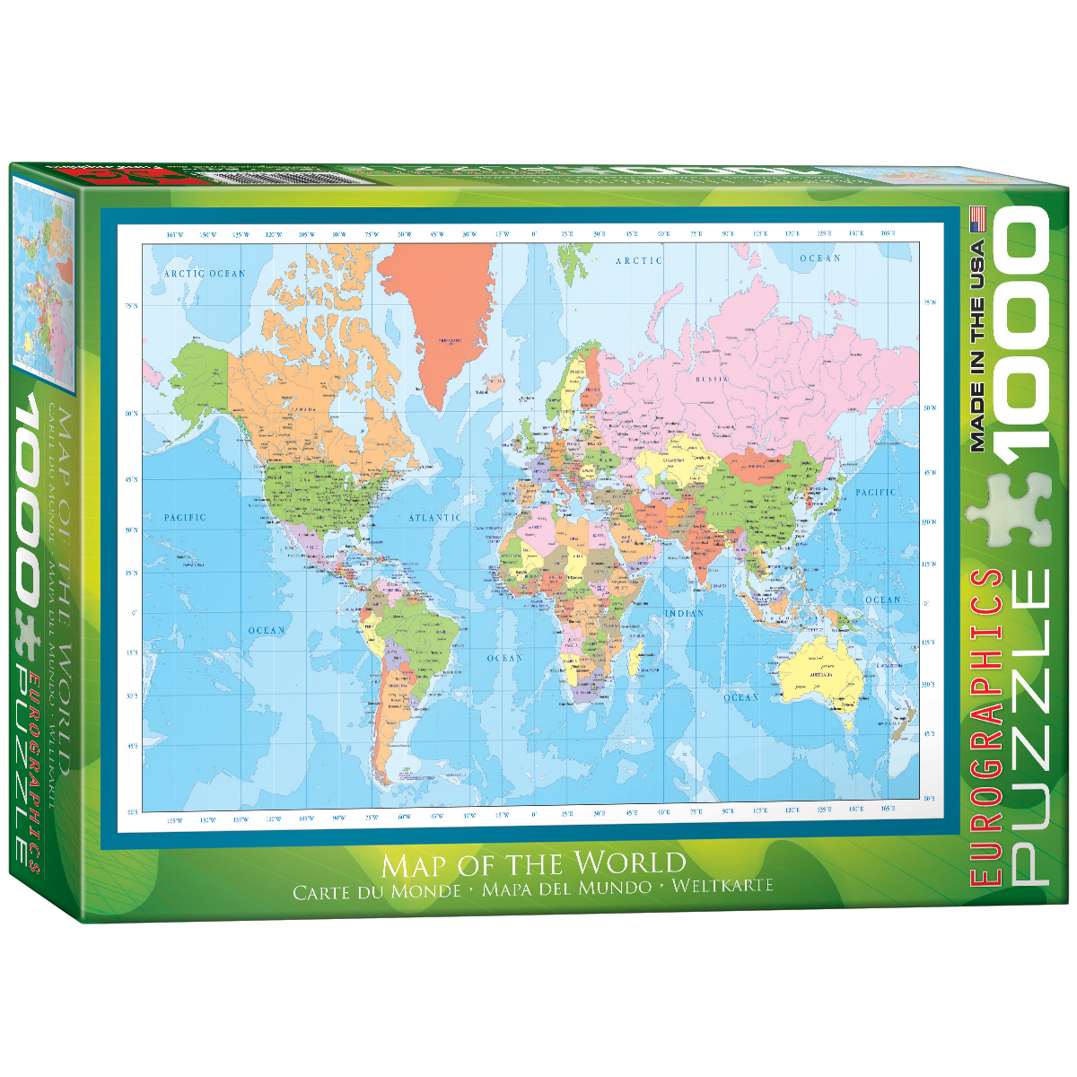 Kmart World Map Map Of The World Toys And Games Puzzles Jigsaw Puzzles