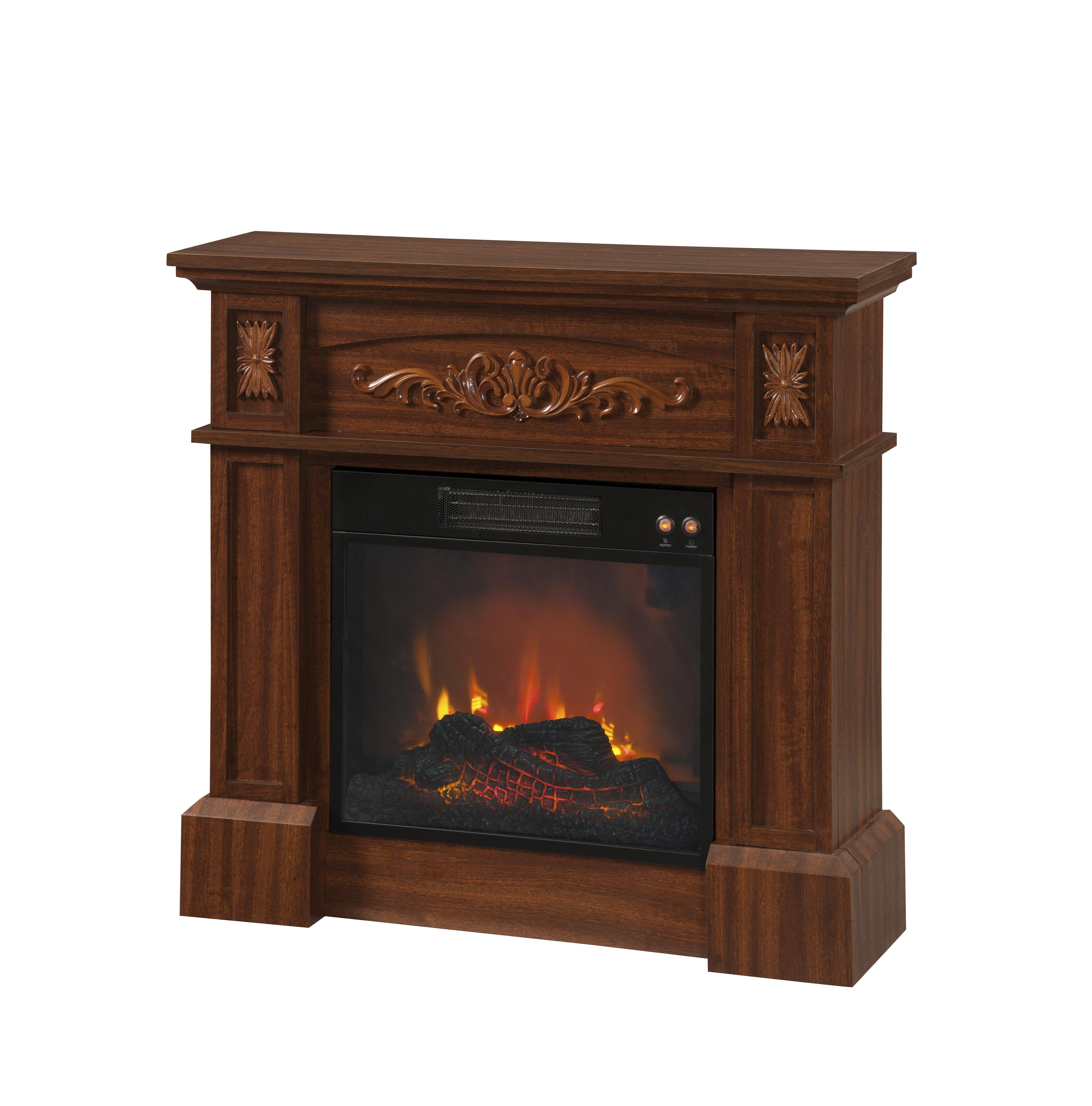 Essential Home Livingston Electric Fireplace