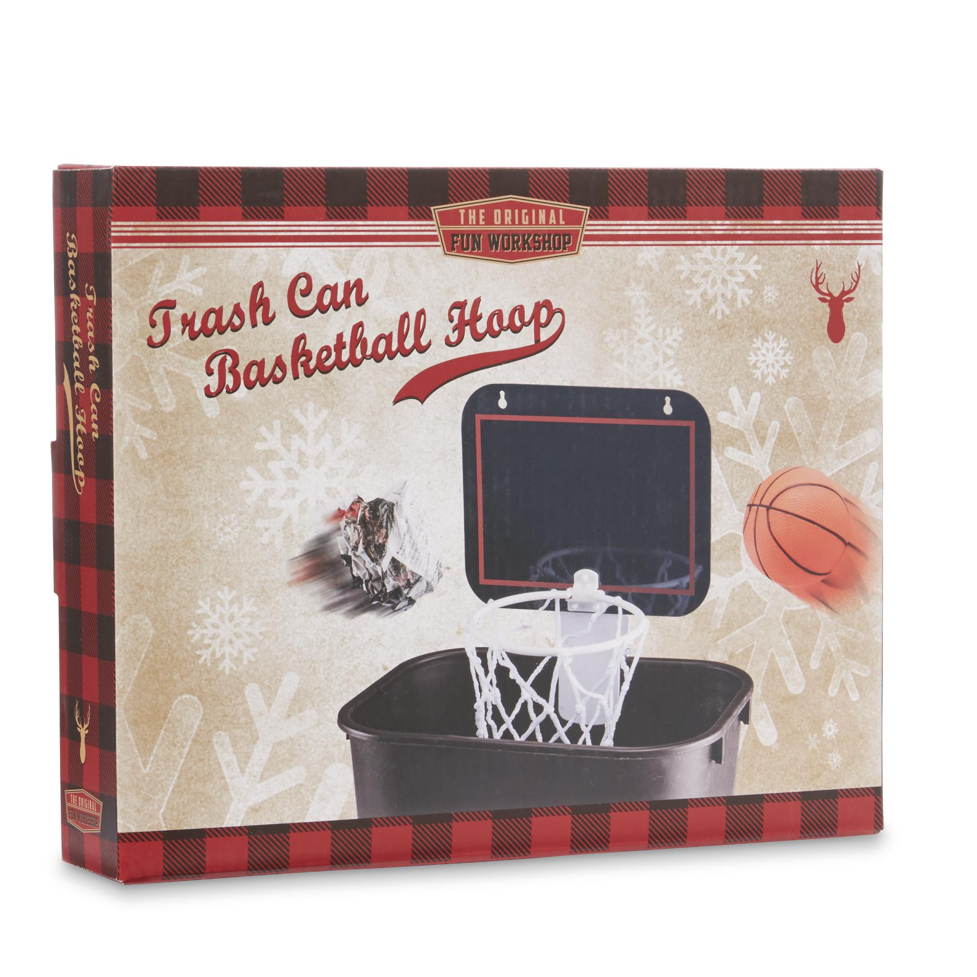 Fun Trash Can Trash Can Basketball Hoop Boxed Gift Set