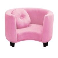 Komfy Kings Kids Comfy Chair - Pink Micro