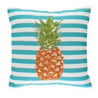 Pineapple Pillow- Blue *Limited Availability*